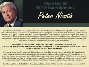 Member Spotlight-Peter Nisotis